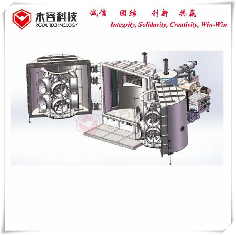 RTSP2000-Magnetron Sputtering Deposition, PVD Coating Machine For Automotive Hubs